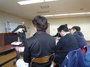 安田会長講義